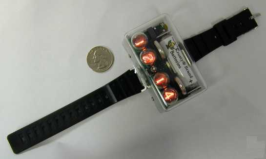 Nixie Tube Digital Wristwatch